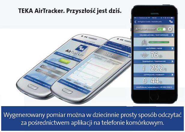 AirTracker - zdalny pomiar na smartfonie