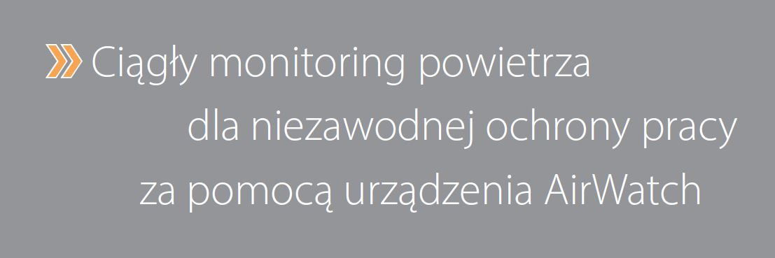 AirWatch - ciągły monitoring powietrza