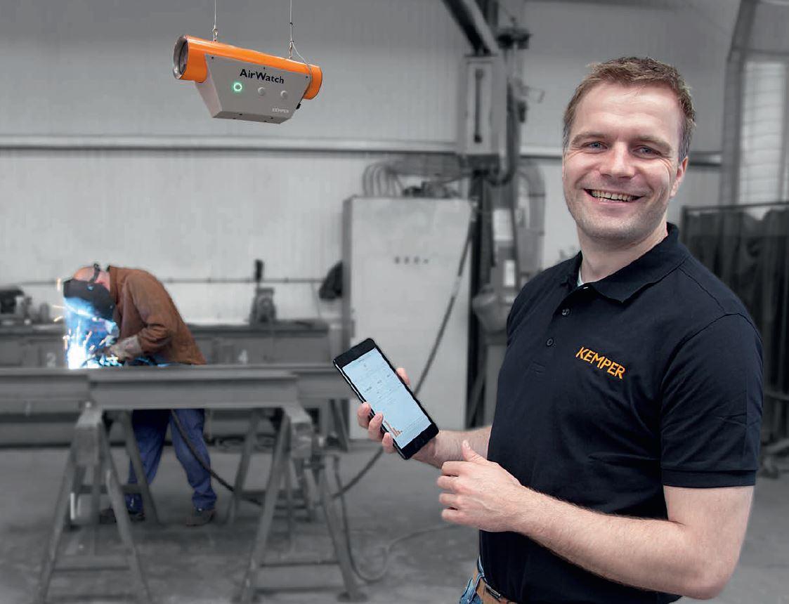 AirWatch - monitoring powietrza na smartfonie