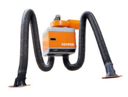 Kemper stacjonarny filtr mechaniczny z dwoma ramionami odciągowymi