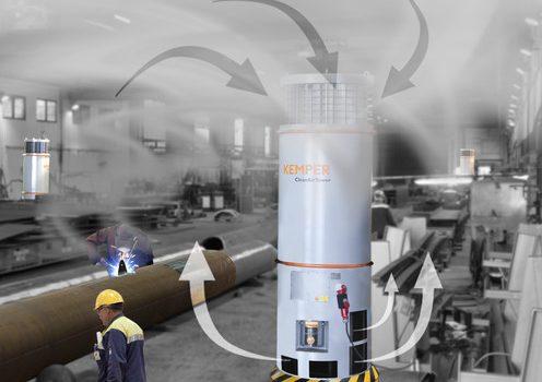 system filtrowentylacji wieża filtracyjna