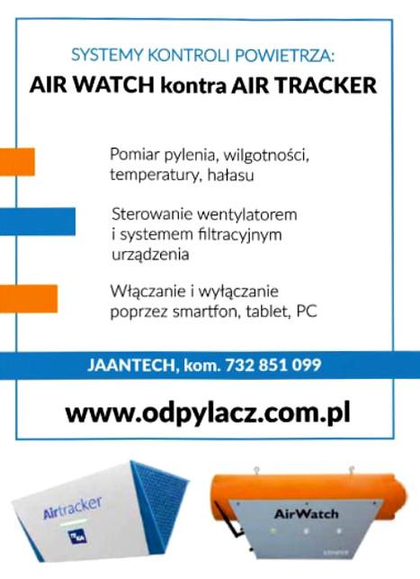 systemy kontroli powietrza air watch kontra air tracker